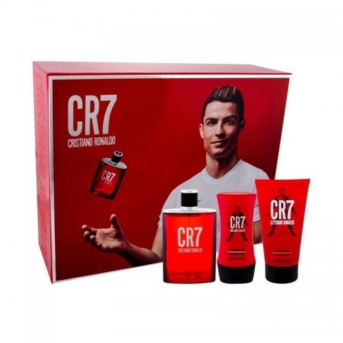 Cristiano Ronaldo CR7 rinkinys vyrams 100ml EDT + dušo gelis 150 ml + balzamas po skutimosi 100 ml