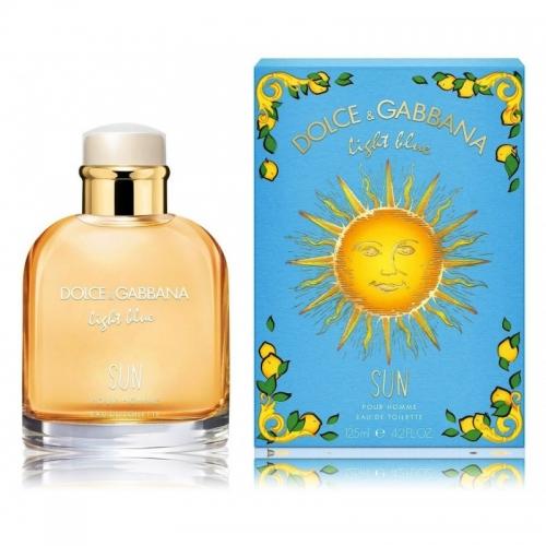 Dolce & Gabbana Light Blue Sun EDT kvepalai vyrams