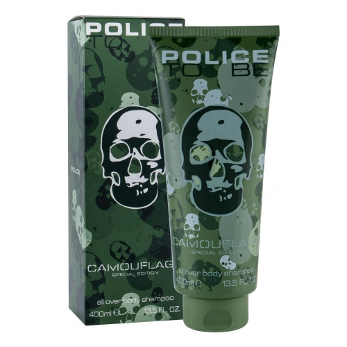 Police To Be Camouflage 400ml dušo želė vyrams