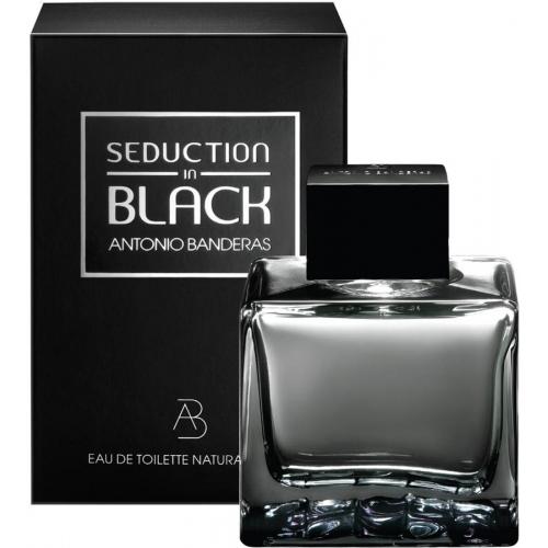 Antonio Banderas Seduction in Black EDT kvepalai vyrams