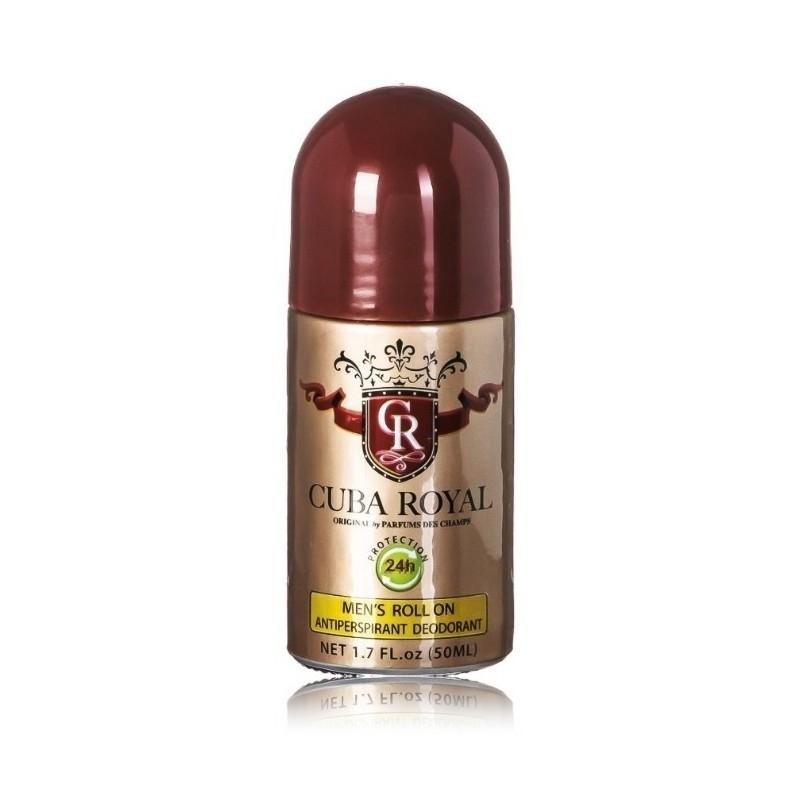 Cuba Royal rutulinis dezodorantas antipersperantas vyrams 50 ml